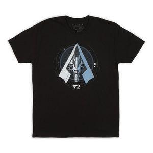 Loot Crate Black Destiny 2 T-Shirt  Sz L NEW
